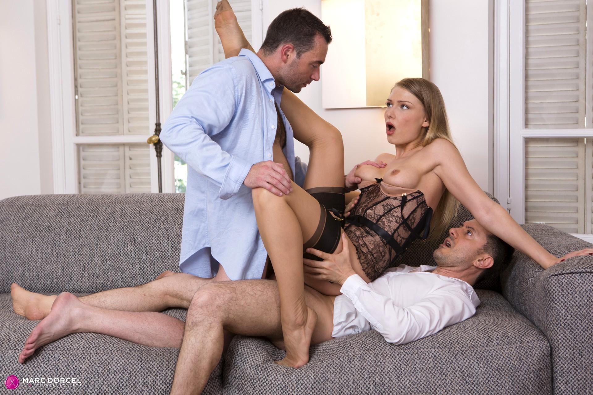 Порно дорсель муж привел жену к любовнику